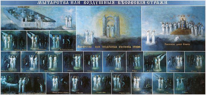 Фреска у входа в Ближние пещеры Киево-Печерской обители