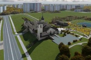 Строительство храма Николая Японского в Минске