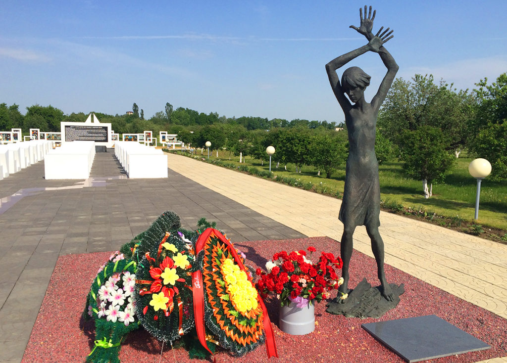 Красный Берег (мемориал «Памятник детям-жертвам Великой Отечественной войны 1941-1945г.)