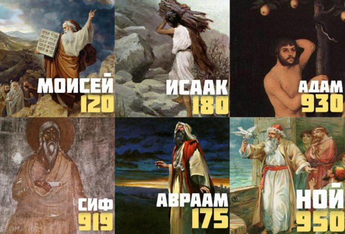 Почему сейчас люди живут по 70 лет, а в древние времена по 700?