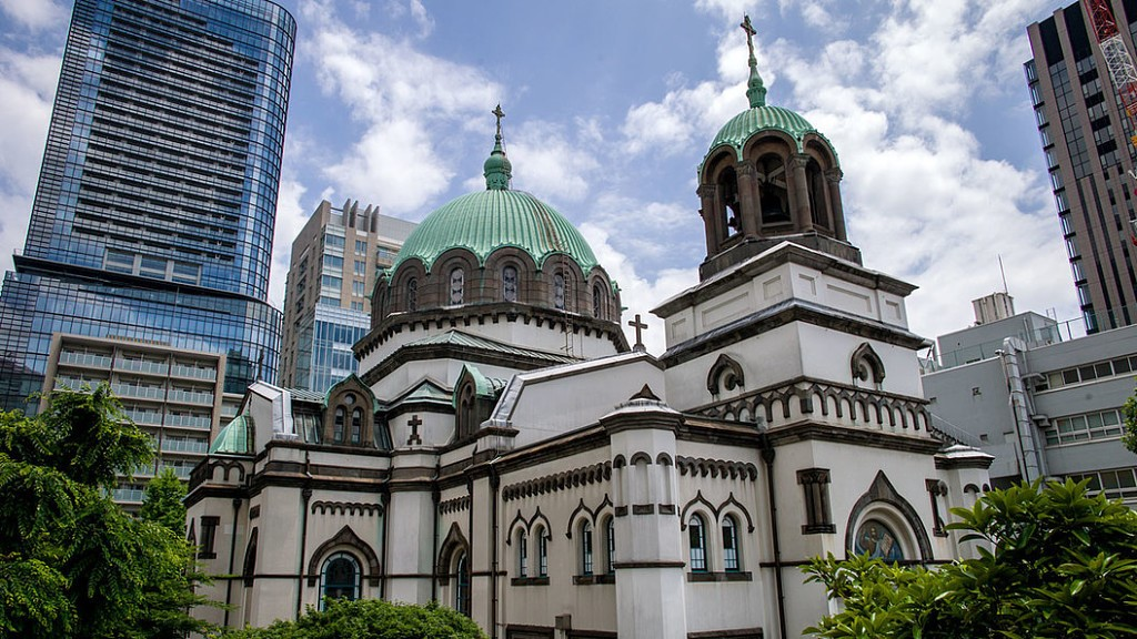 В Токио есть Храм в честь Воскресения Христова