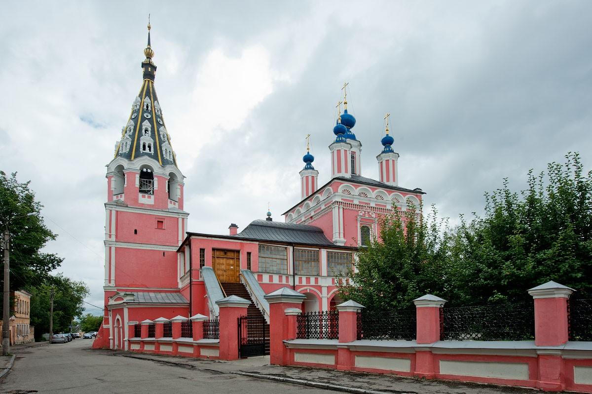 Город Калуга. Свято-Георгиевский собор
