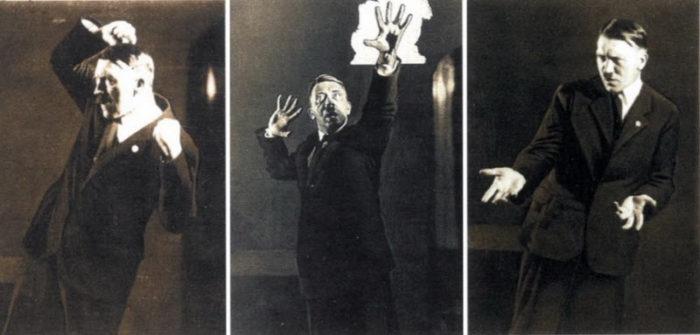 """""""Апокалиптичный, дальновидный, убедительный"""". Постановочный фотосет Генриха Гофмана. 1925 г"""