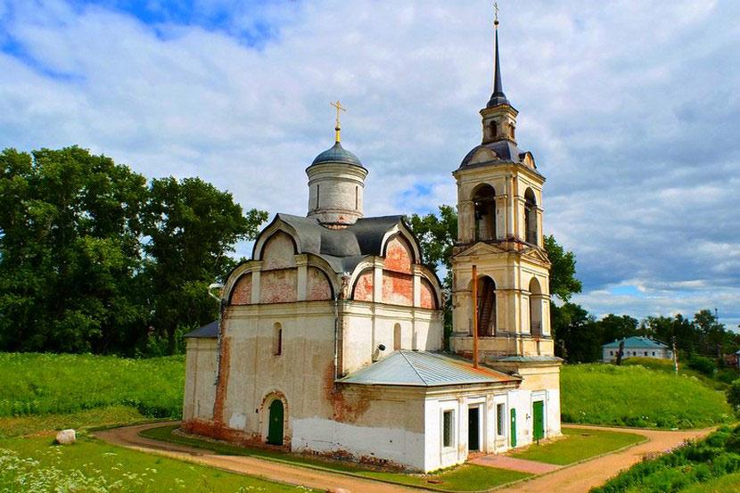 Храм Вознесения Господня(1566г)-мощи блаженного Исиодора ростовского чудотворца