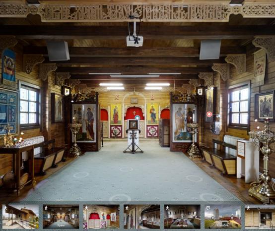 Виртуальный 3D-тур по храму Николая Японского в Минске