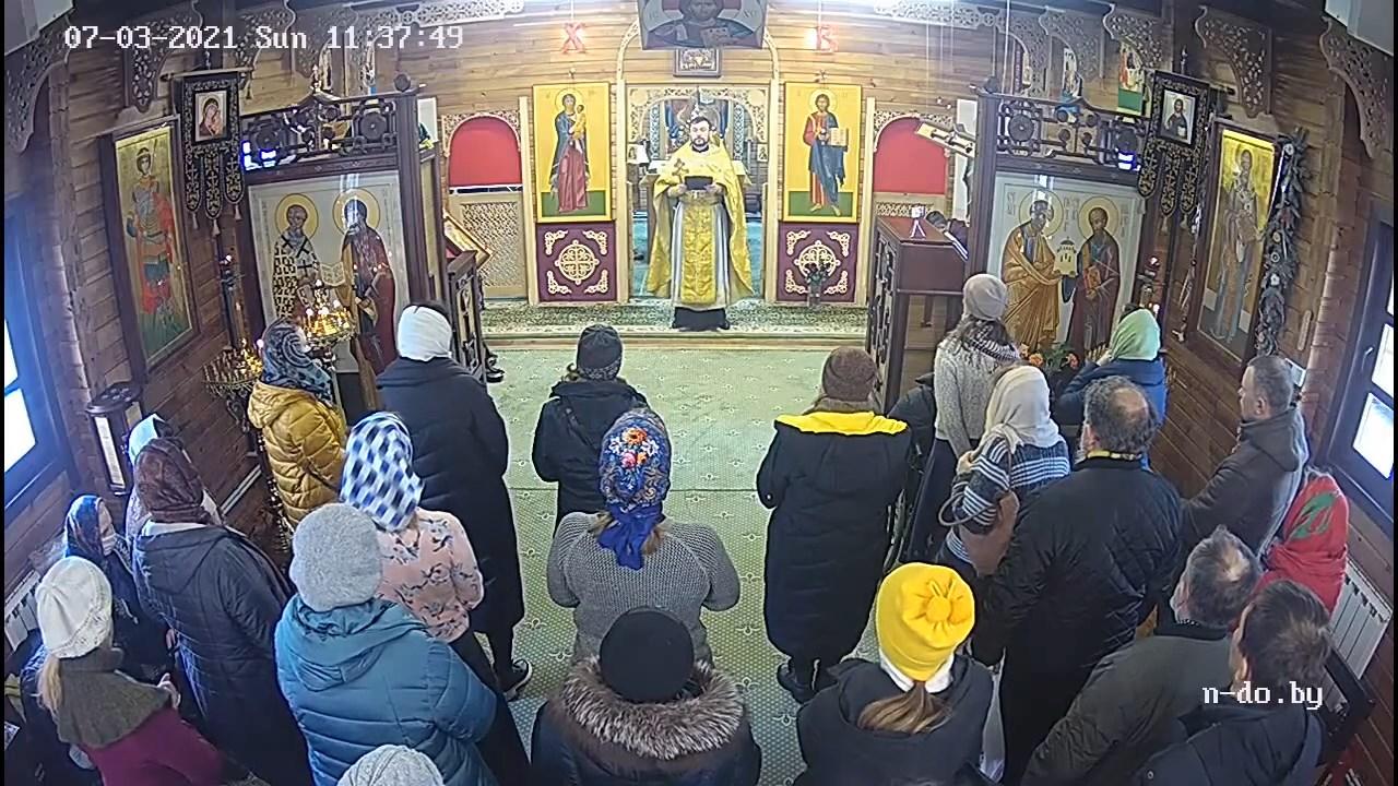 О страхе и вере... Проповедь иерея Алексея Мосесова